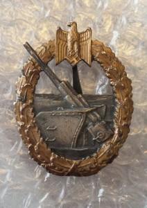 Kriegsabzeichen für Marineartillerie