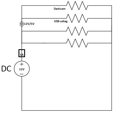 Diagram over installation