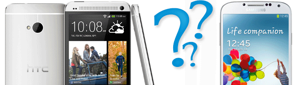 Samsung Galaxy S4 eller HTC ONE?