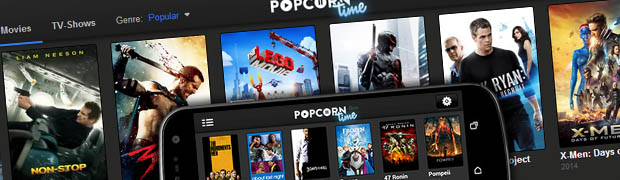 Popcorn Time - Gratis film