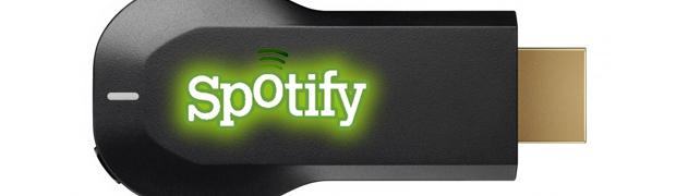 Lyt til Spotify via Chromecast