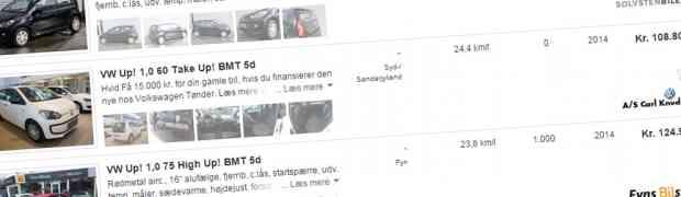 Guide: Køb af brugt VW up!