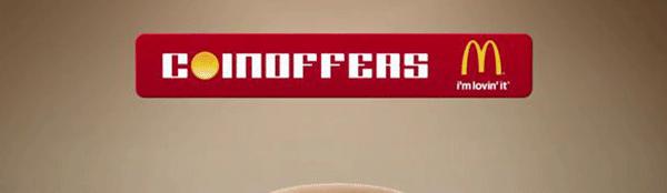 Gratis virtuelle coins til McDonalds Coinoffers (2012)