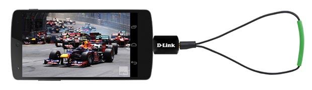 D-Link kommer med TV tuner til Android
